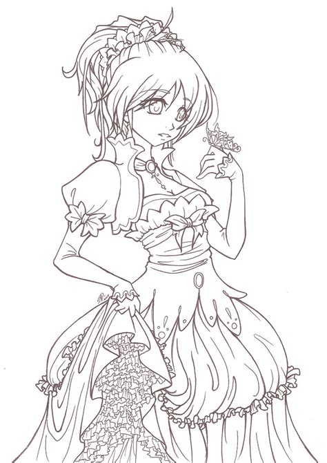 anime doodle characters mermaids and dragons coloring book volume 1 books my fare flower by angelnablackrobe on deviantart