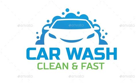 Car Wash Logo By Mazyo2x Graphicriver Car Wash Logo Template Free