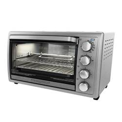 Temperature Of Toaster Oven Black Decker 9 Slice Silver Toaster Oven To4314ssd The