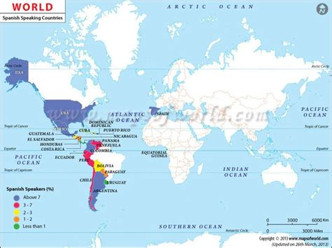 map of speaking countries around the world speaking countries map www mapsofworld