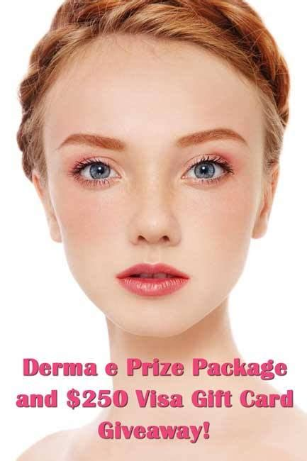 Largest Visa Gift Card Amount - win it derma e prize pack and a 250 visa gift card give away www beingmelody com