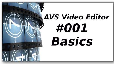 tutorial avs video editor romana avs video editor tutorials 1 importieren einf 252 gen