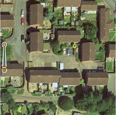 satellite photo of house