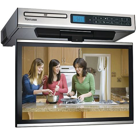 Cabinet Tv Radio Cd Player by Venturer Electronics Klv39150 15 Quot Tv Dvd Combo Walmart