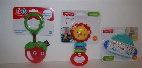 Teether Rattle Fisher Price fisher price baby apple teether rattle harmonica