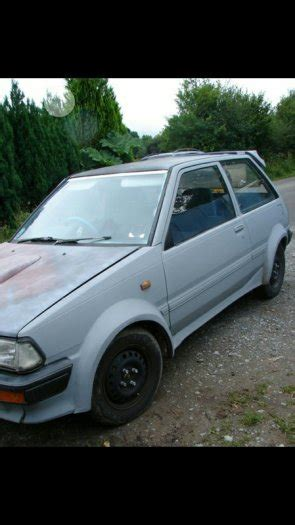 Toyota Starlet Boxy Boxy Starlet Wide Arched For Sale In Castlemartyr Cork