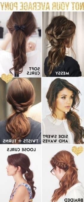 leuke haarstylen leuke en makkelijke haarstijlen