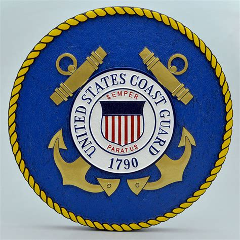 Coast Guard Wall united states coast guard wooden wall plaque