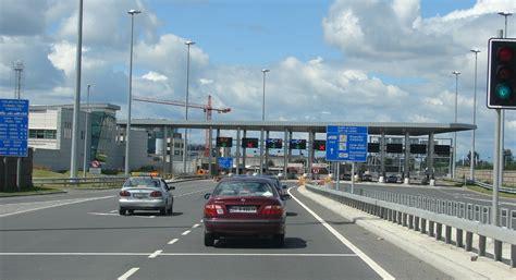 dublin port file m50 dublin port tunnel approaching toll plaza