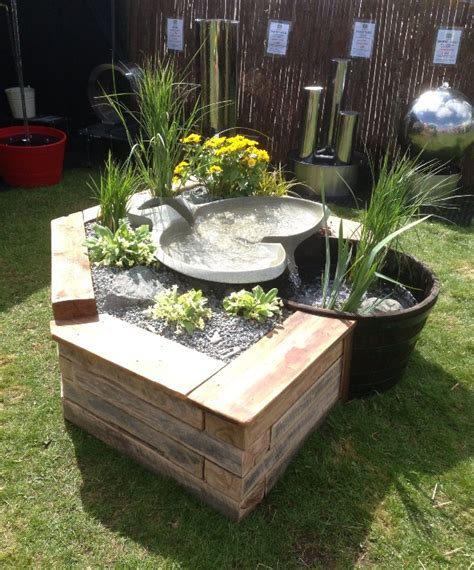 Raised Garden Table Yorkshire Water Features Raised Bed Waterfall Feature
