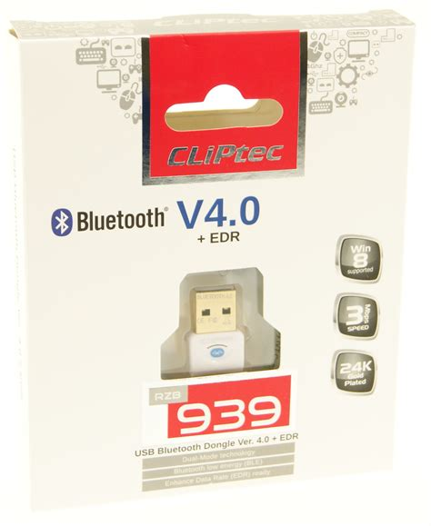 Bluetooth Cliptec cliptec 174 usb 4 0 bluetooth wireless dongle adapter edr