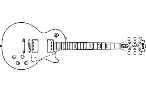 best photos of les paul guitar outline gibson les paul