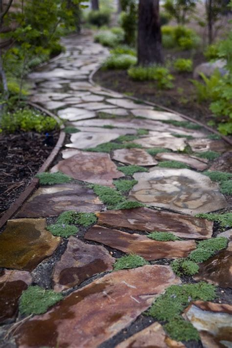 Seaside Bathroom Ideas 43 Awesome Garden Stone Paths Digsdigs