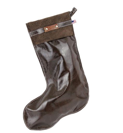 stylish leather christmas stocking copper river bags
