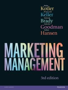 Sales Management Books For Mba by Marketing Management 3rd Edn Philip Kotler 9781292106083