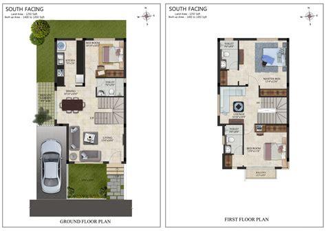 villa floor plans india 3bhk villa for sale in oragadam chennai at casa grande