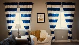 Nautical Themed Shower Curtain - nautical curtains