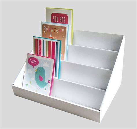 how to make a card stand best 20 greeting cards display ideas on