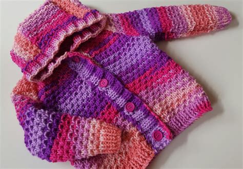 knitted sweaters for toddlers baby knitting pattern toddler or boys hooded
