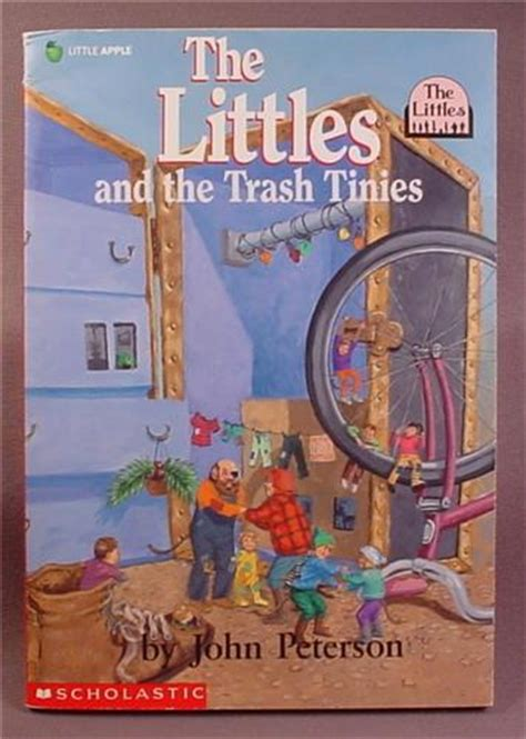 treasures in the trash books the littles and the trash tinies paperback chapter book