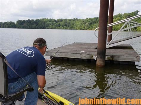shooting docks  crappie   summer john