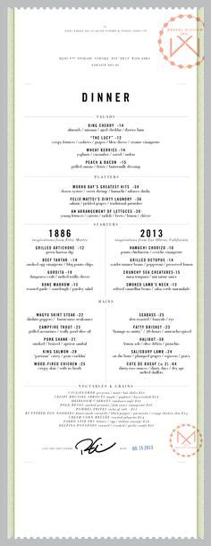 menu book design layout 1000 images about menu design inspiration on pinterest