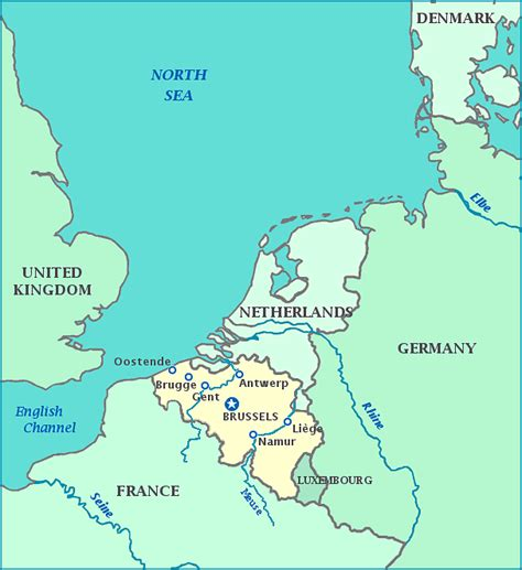 map netherlands belgium germany map belgium germany netherlands