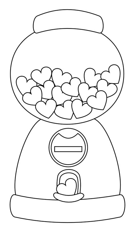 heart gumball machine digi st free