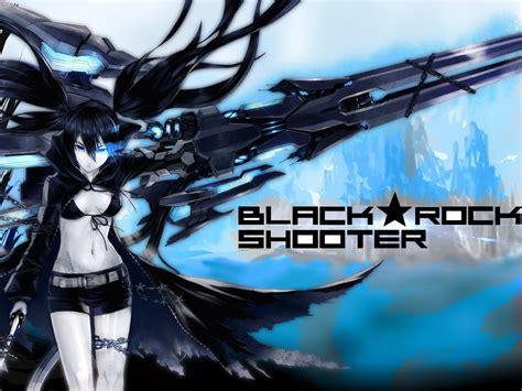 wallpaper anime black rock shooter black rock shooter blue death wallpaper and background