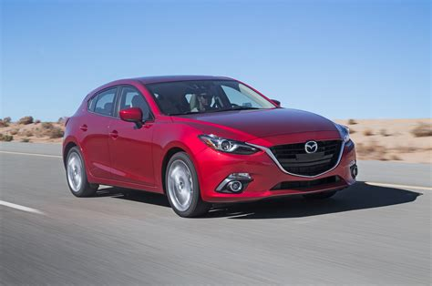 mazda hatchback 2014 mazda3 i sedan and s hatch first test motor trend