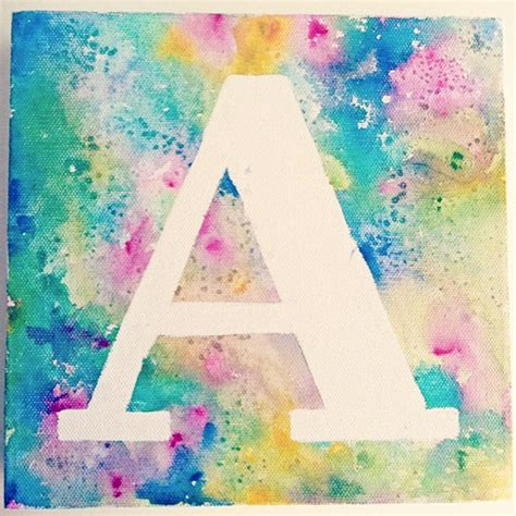 painting ideas for kids hello wonderful 8 kids name or monogram art print ideas