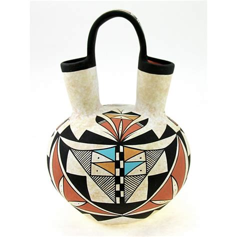 American Wedding Vases by Indian Pottery American Wedding Vase By Westly