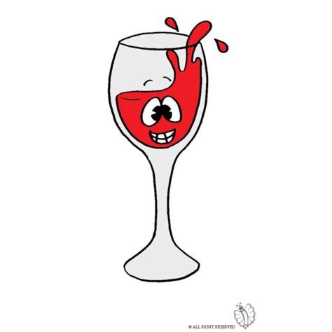bicchieri da colorare disegno di bicchiere di vino a colori per bambini