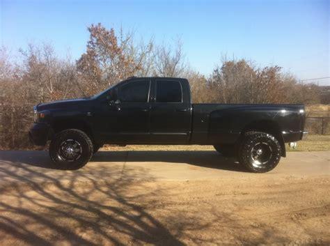 Ultra goliath black dually rims   Dodge Diesel   Diesel