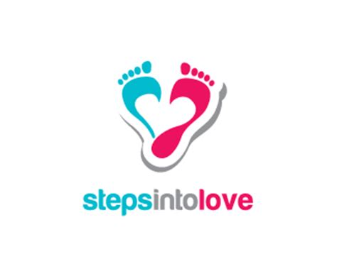 design a logo steps steps into love designed by goh brandcrowd
