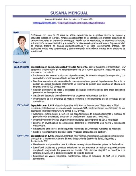 Modelo Curriculum Vitae Resumen delighted modelo de resumen curricular 2015 photos