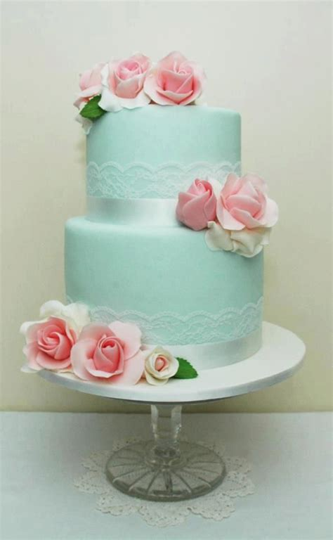 25 best ideas about shabby chic cakes on pinterest blue