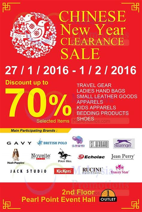 new year warehouse sale 2016 pearl point new year clearance sale 27 jan 1 feb