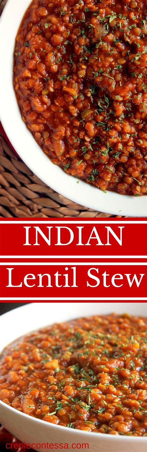 lentil stew cooker cooker indian lentil stew creole contessa