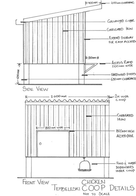 A Frame Blueprints by Chicken Coop Plans And Details Article Costa S Garden
