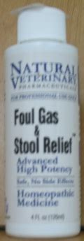 foul gas stool relief vet 4oz veterinary