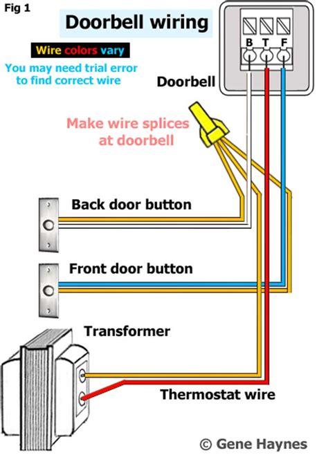 identify wires   doorbell