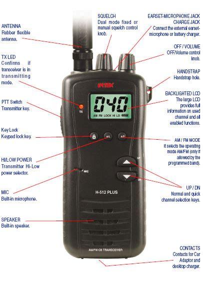 intek led desk l statie radio portabila cb27 intek h 512 transceiver