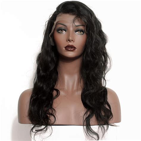 With Wig On by Lace Fronthuman Hair Wigs Wave With Baby Hair Pre