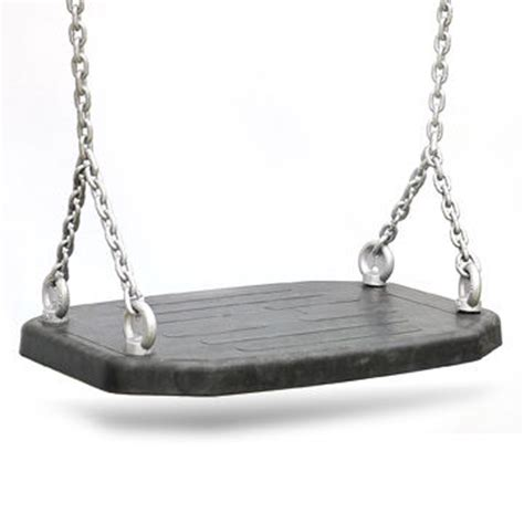 swing seat and chain stylish large rubber patio swing seat with hot dipped