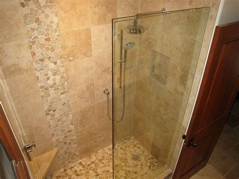 bathroom travertine tile design ideas 40 best images about bathroom on pinterest pebble floor