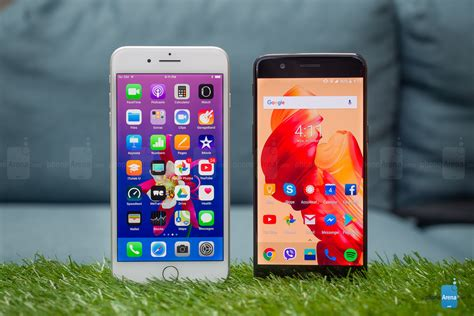 apple iphone 8 plus vs oneplus 5