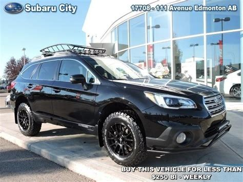 subaru outback lifted off road used 2017 subaru outback 2 5i touring special edition