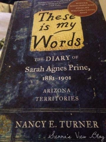 Sierra's View: These Is My Words (Book Club!!) // Sierra's