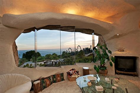 dick clark s flintstone house dick clark s unique flintstone style house for sale in